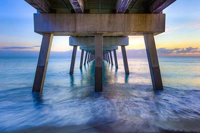 Florida Bridge Photograph - Rise by Debra and Dave Vanderlaan