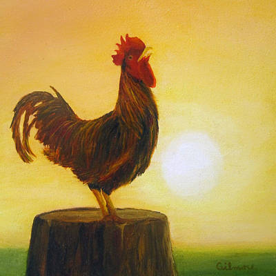 Painting - Rise 'n Shine by Roseann Gilmore