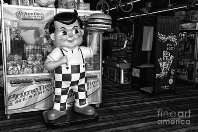 Photograph - Rise Of The Burger Boy Mono by John Rizzuto