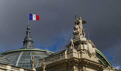 Paris Photograph - Rising Above The Grand Palais by Tim Stanley