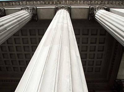 Rising Columns Art Print by David Rosenthal