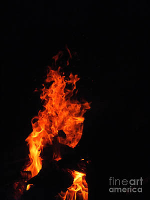 Photograph - Rising Flame 3 by Melissa Lightner