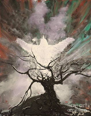 Painting - Rising From The Ash by Stefan Duncan