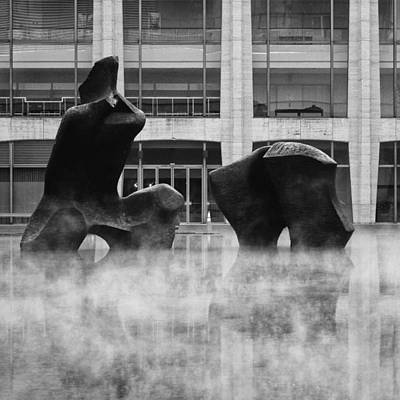 Negative Space - Rising from the Mist by Cornelis Verwaal
