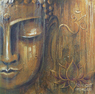 Rising Into Enlightenment Art Print by Gayle Utter