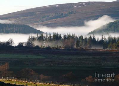 Photograph - Rising Mist - Advie by Phil Banks