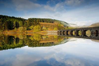 Photograph - Rising Mist In The Elan Valley by Stephen Taylor