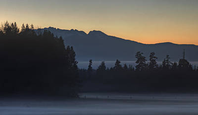 Photograph - Rising Mist by Randy Hall