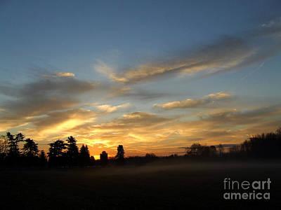 Photograph - Rising Mist Skys by Scott B Bennett