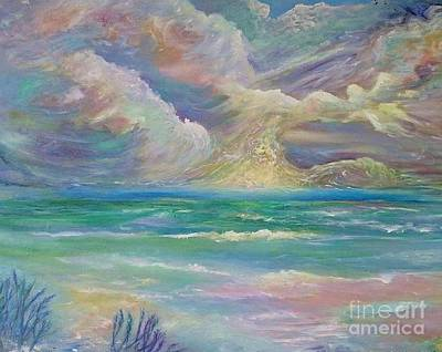 Painting - Rising Sea by Myra Maslowsky