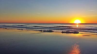 Rising Sun At Oak Island Nc Original
