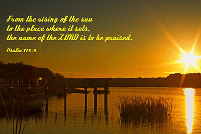 Photograph - Rising Sun by Bill Barber