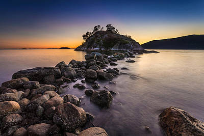 Photograph - Rising Tide At Dusk by Pierre Leclerc Photography