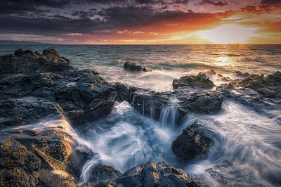 Photograph - Rising Tide II by Hawaii  Fine Art Photography