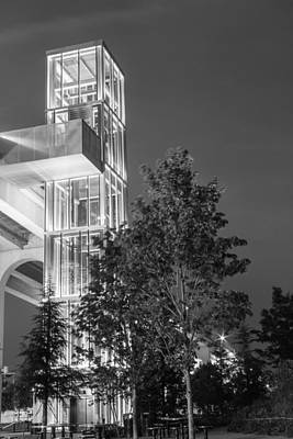 Photograph - Rising Tower Elevator by Robert Hebert
