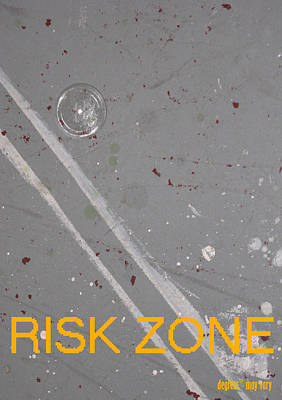 Risk Zone Art Print