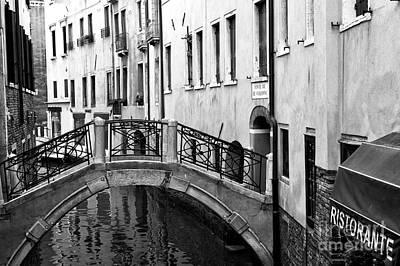 Ristorante On The Canal Art Print
