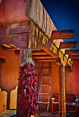 Photograph - Ristras by Charles Muhle