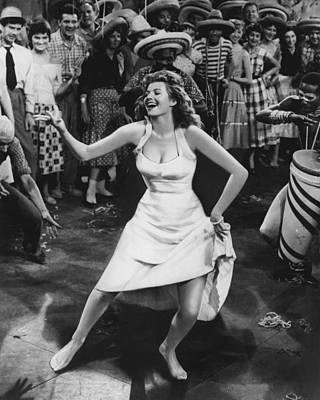 Kelly Photograph - Rita Hayworth Dancing by Retro Images Archive