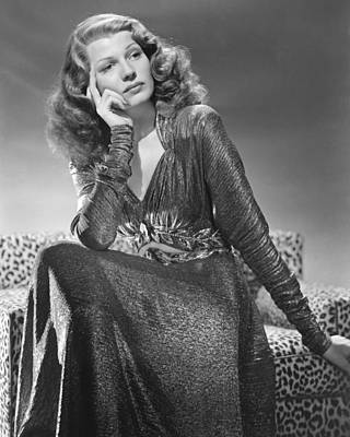 Rita Hayworth Photograph - Rita Hayworth by Silver Screen