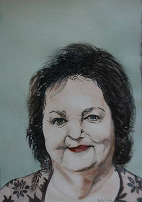 Painting - Rita Macneil by Betty-Anne McDonald