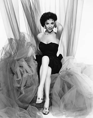 Rita Moreno, Paramount Portrait, Circa Art Print by Everett