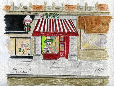 Painting - Rita's Italian Ice by AFineLyne