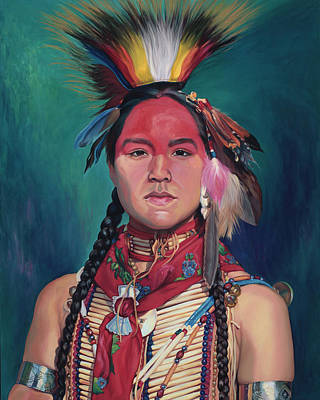 Painting - Rite Of Passage by Christine Lytwynczuk