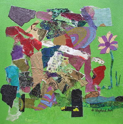 Various Mixed Media - Rites Of Spring by Shirley Shepherd