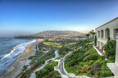 Photograph - Ritz-carlton Laguna Niguel Ocean View by David Zanzinger