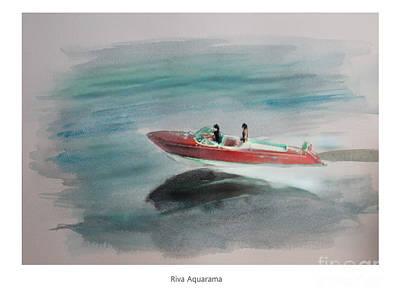 Riva Aquarama Art Print