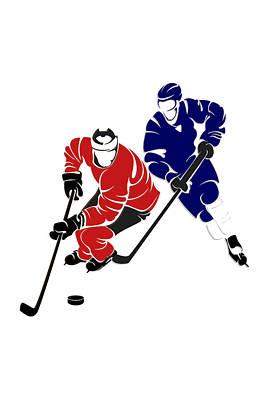Ottawa Wall Art - Photograph - Rivalries Senators And Maple Leafs by Joe Hamilton