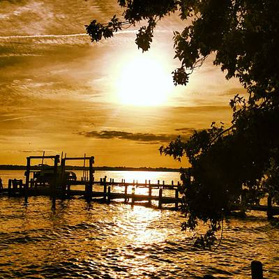 Photograph - River Acres Jaynes Sunset by Joan Meyland