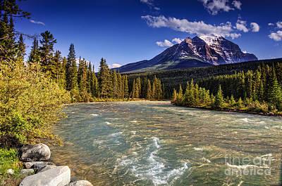 Caravaggio - Mountain river in Jasper by Viktor Birkus