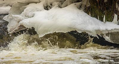 Photograph - River As Sculptor by Christopher Burnett