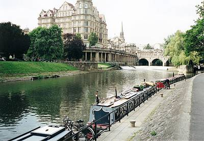 Photograph - River Avon In Bath England by Marilyn Wilson