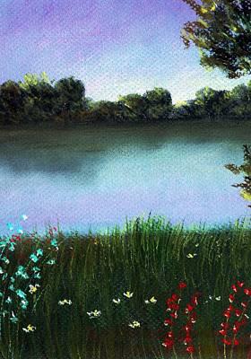 Painting - River Bank by Anastasiya Malakhova