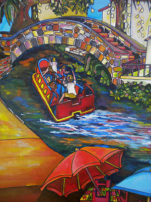 Painting - River Barge by Patti Schermerhorn