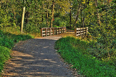 Photograph - River Bend Bike Trail by Roger Passman