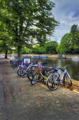 Photograph - River Bike Ride by Ian Mitchell
