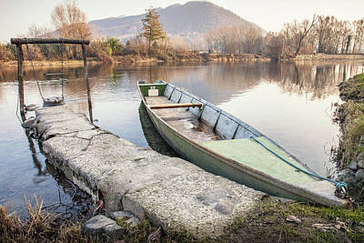 Photograph - River Boat by Alfio Finocchiaro