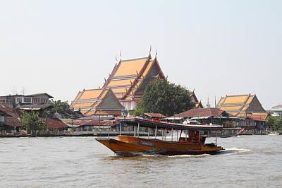 River Boat Taxi - Bangkok Thailand - 01139 Art Print