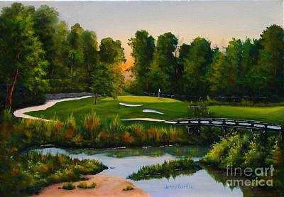 River Course #16 Art Print