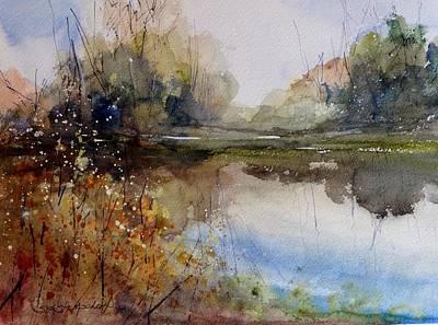 Painting - River Dance by Sandra Strohschein
