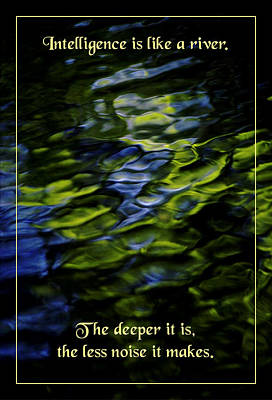 River Deep Art Print by Mike Flynn