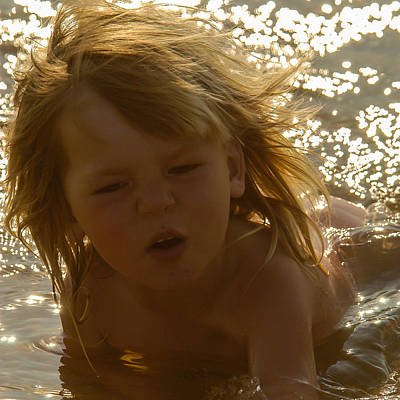Photograph - River Dip by Alistair Lyne