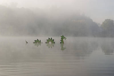 Photograph - River Dragon In Fog by Gregory Scott