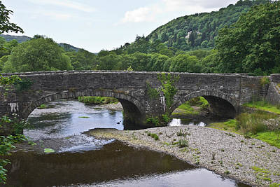 Photograph - Bridge On The River Dwyryd by Jane McIlroy