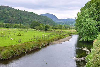 Photograph - River Dwyryd Wales by Jane McIlroy