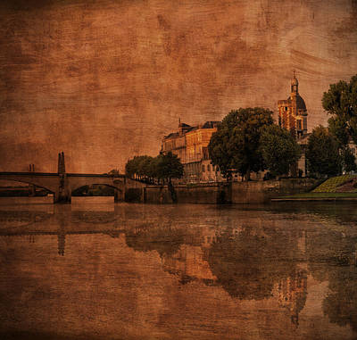 Photograph - River Estate Chalone Sur Soane by Bob Coates
